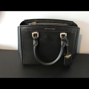 Benning Medium Leather Satchel